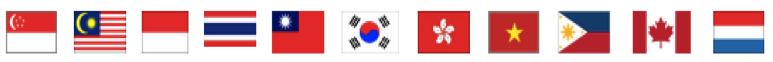 海外事業旗